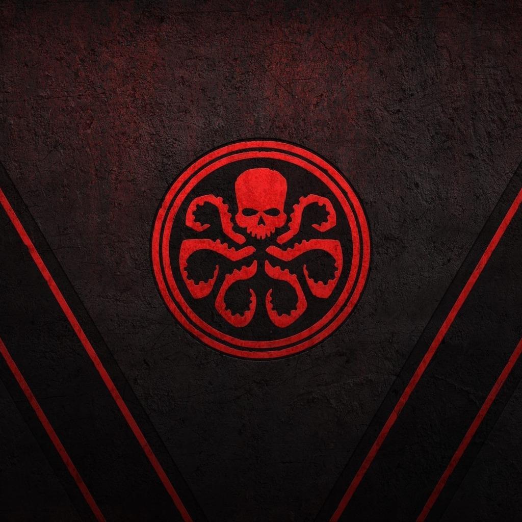 Wallpaper Red Logo Game Octopus Symbol Movie Captain America
