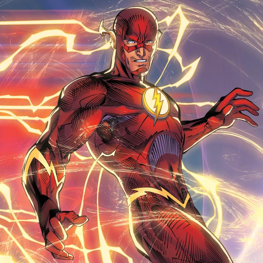 [CW] Réunion à Happy Harbor [Justice League] Flash-barry-allen-dc-comics