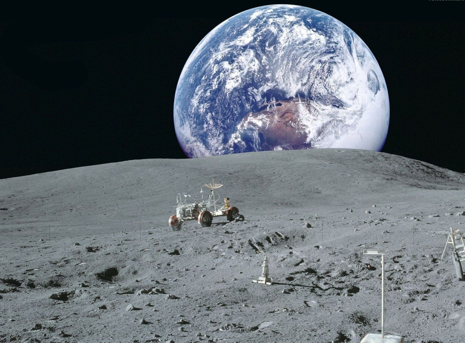 earth from the moon - HD1600×1181