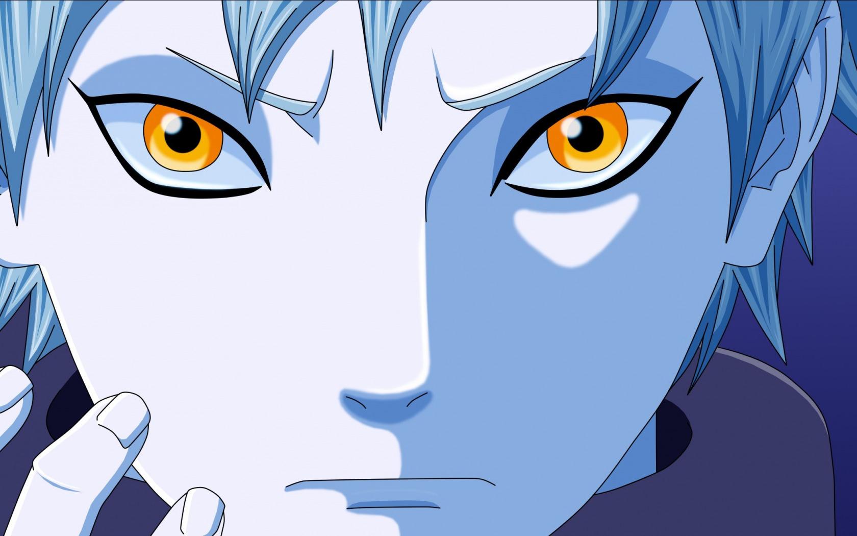 Download Wallpaper Wallpaper Sword Game Snake Blue Anime