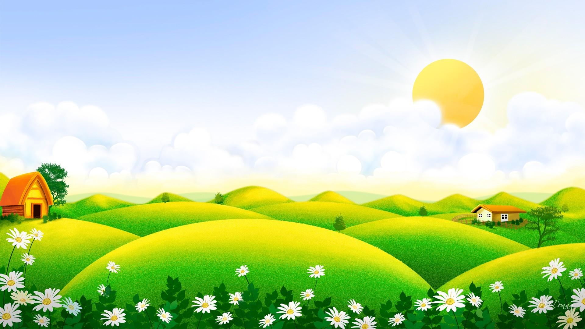 луг сад дворик трава  № 2691645 бесплатно