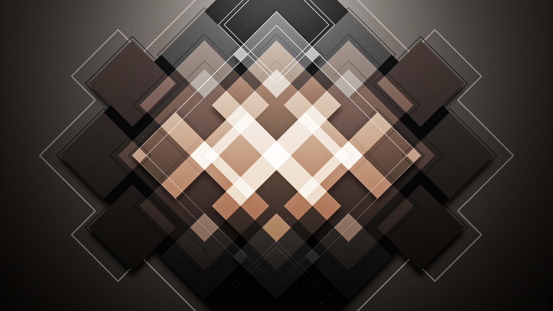 Квадраты фигуры свет блоки  № 3670673  скачать
