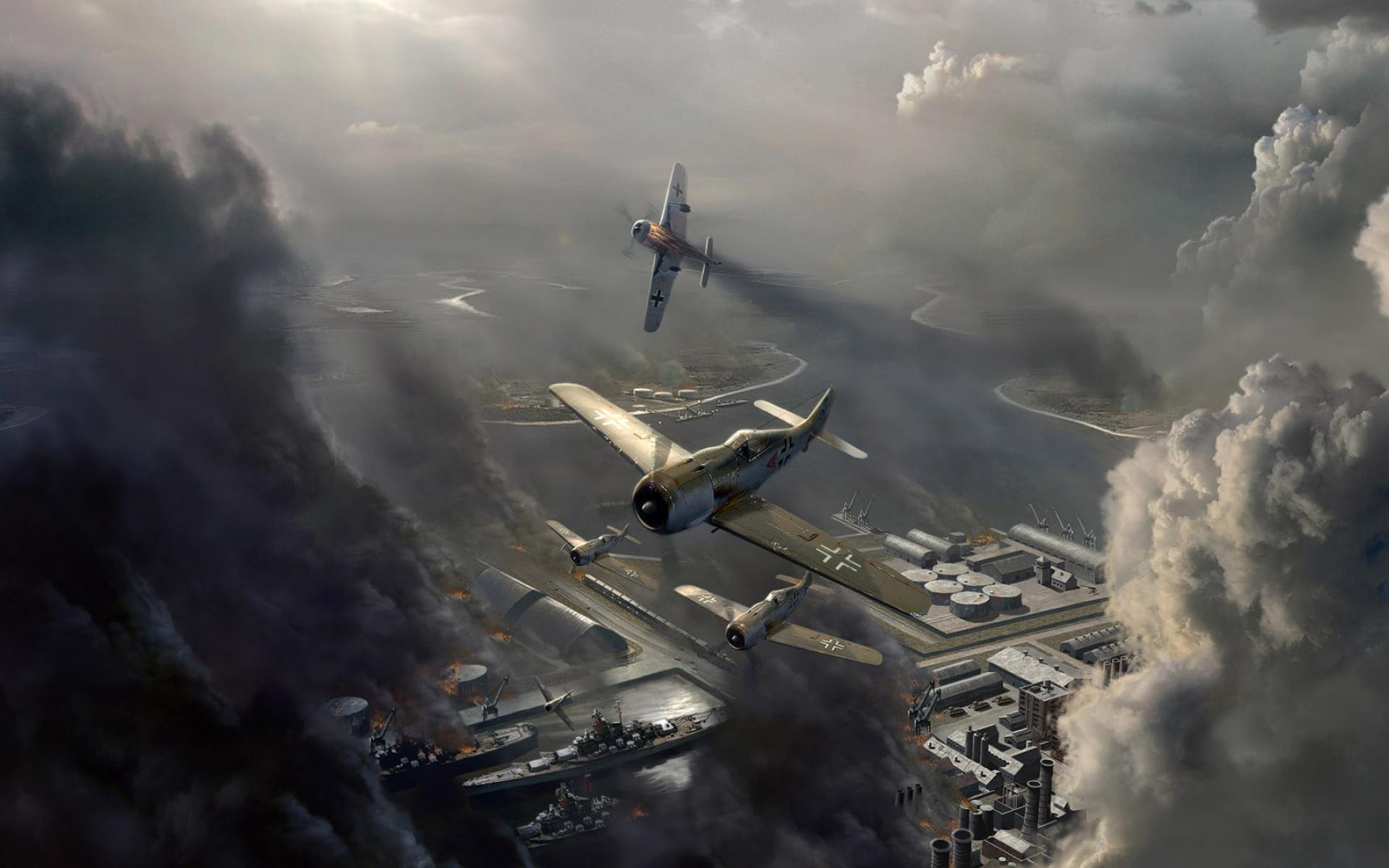 Воздушный бой  № 2373057 загрузить