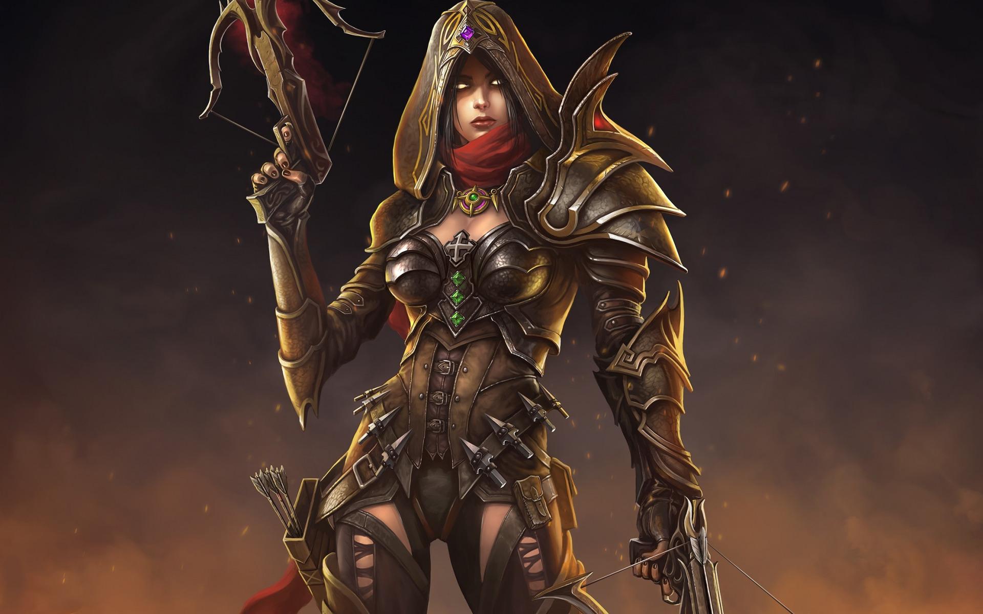 Demon Hunter Diablo 3  № 1892469 бесплатно