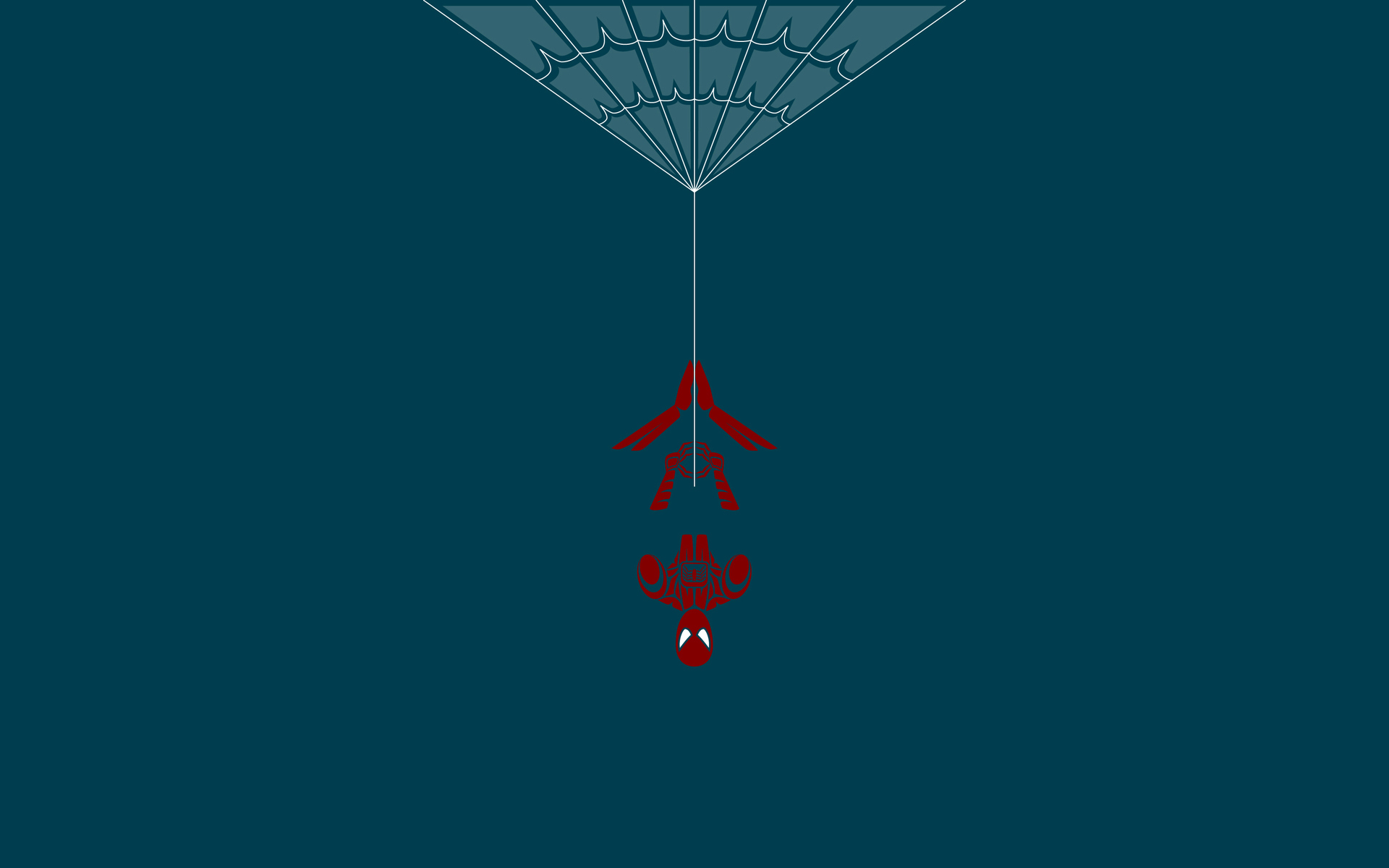 spider man wallpaper minimalist