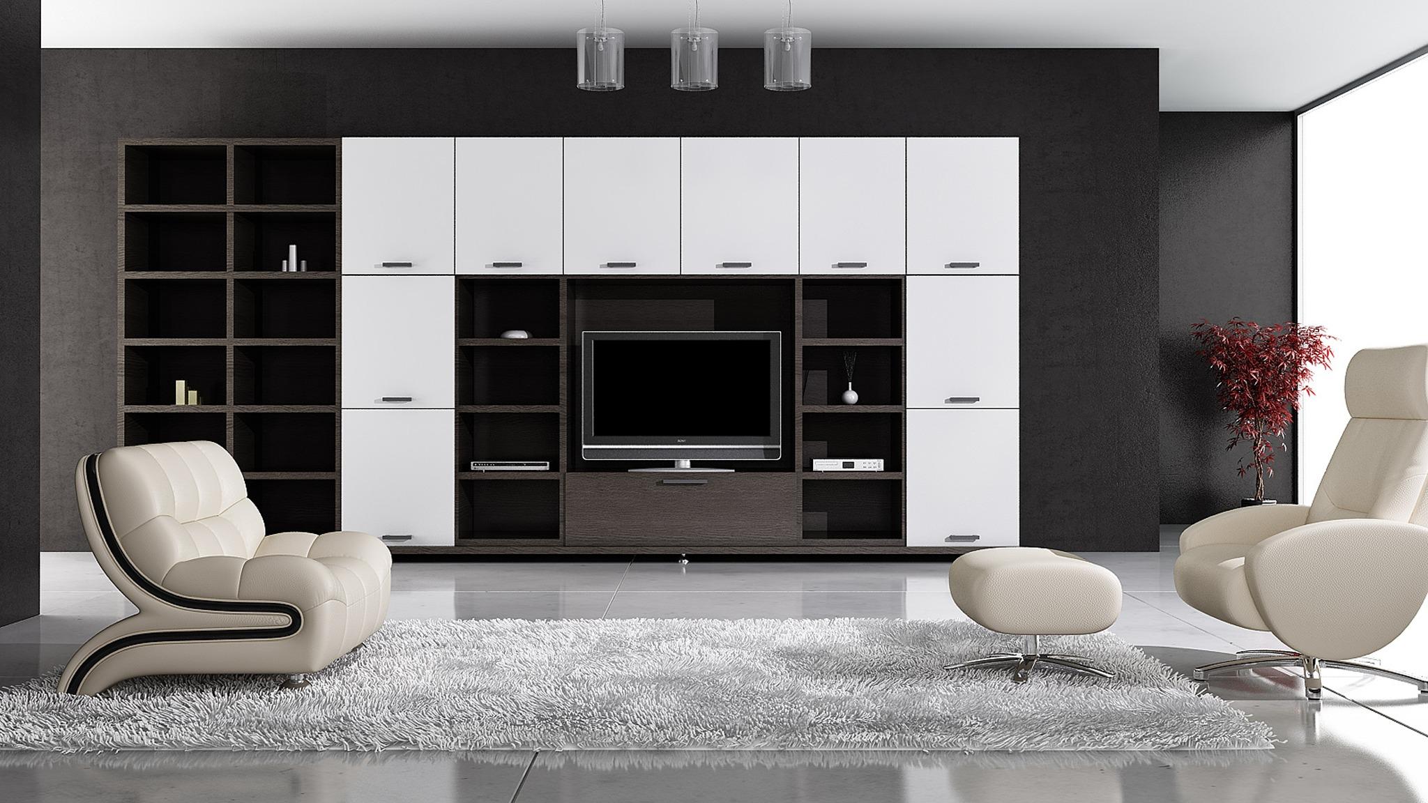 Living Room Chair Ottoman Download Wallpaper Room Carpet Chair Tv Floor Wardrobe