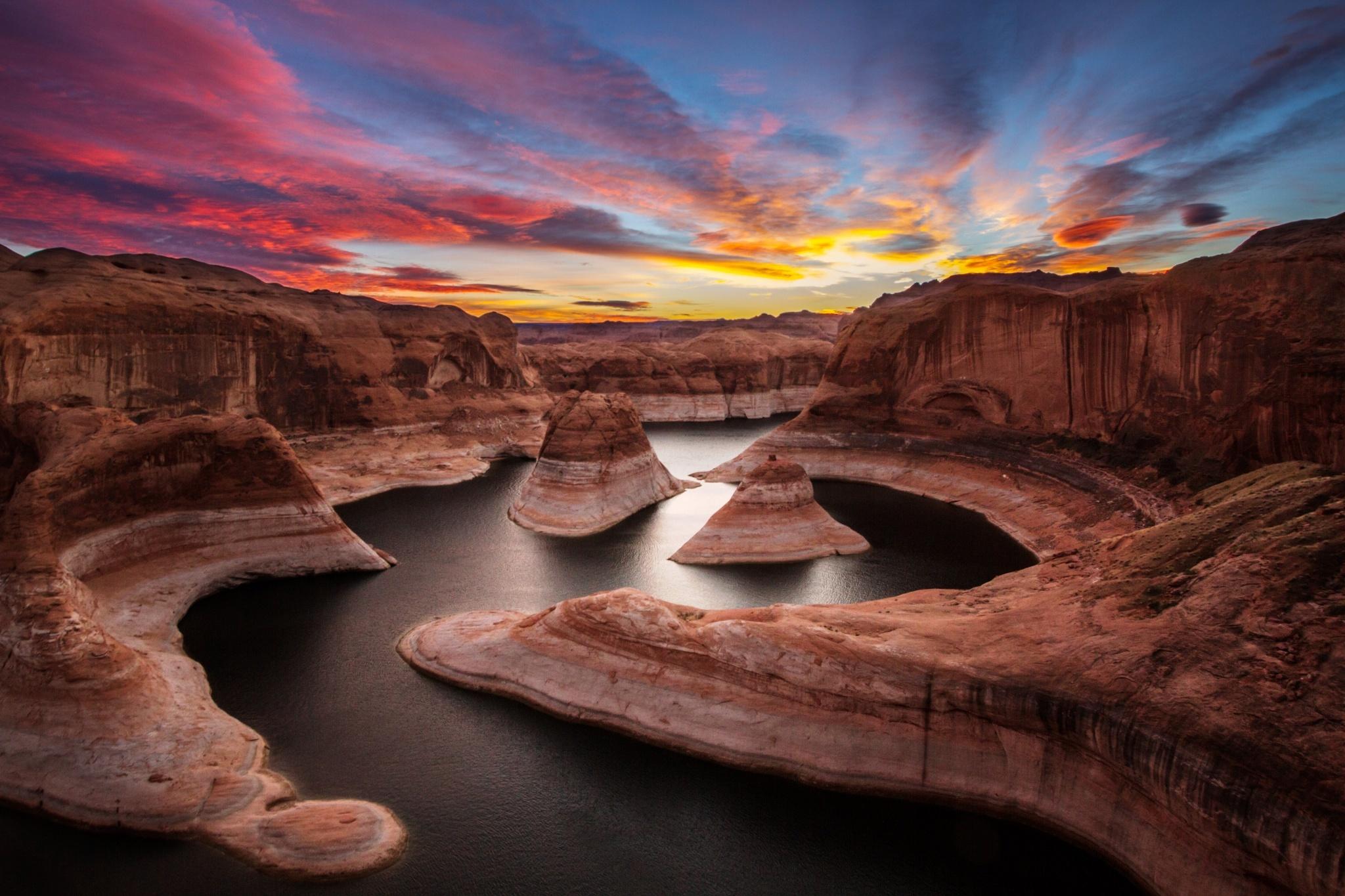 Закат над каньоном  № 241390 без смс