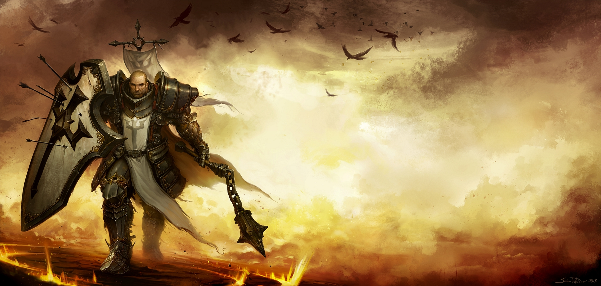 Diablo 3 Crusader Wallpapers - WallpaperPulse