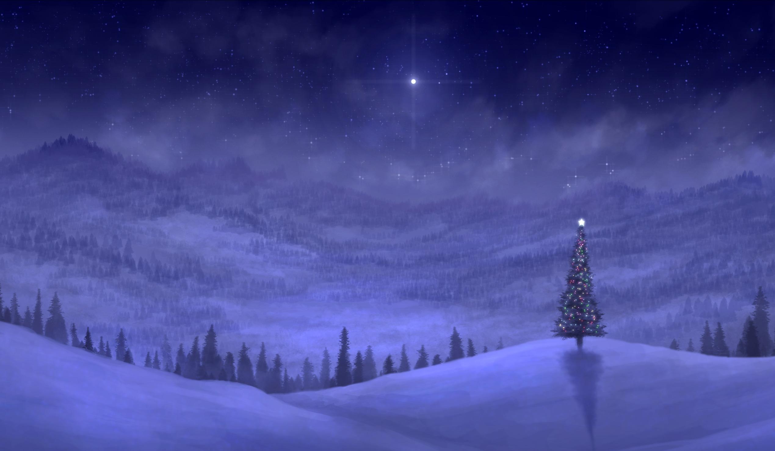 Night lights holiday -  Wallpaper Save It