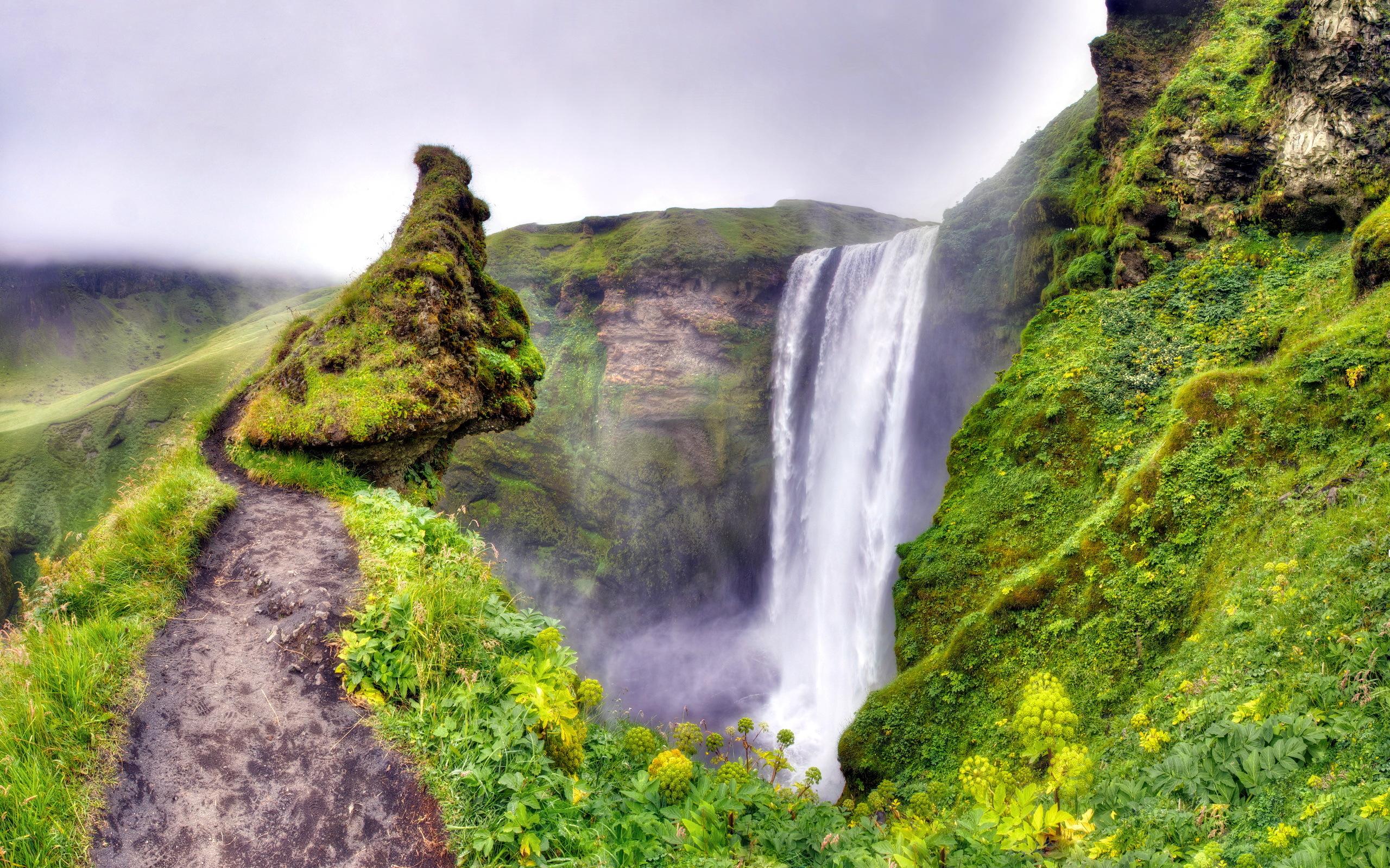 водопад горы  № 2561044  скачать