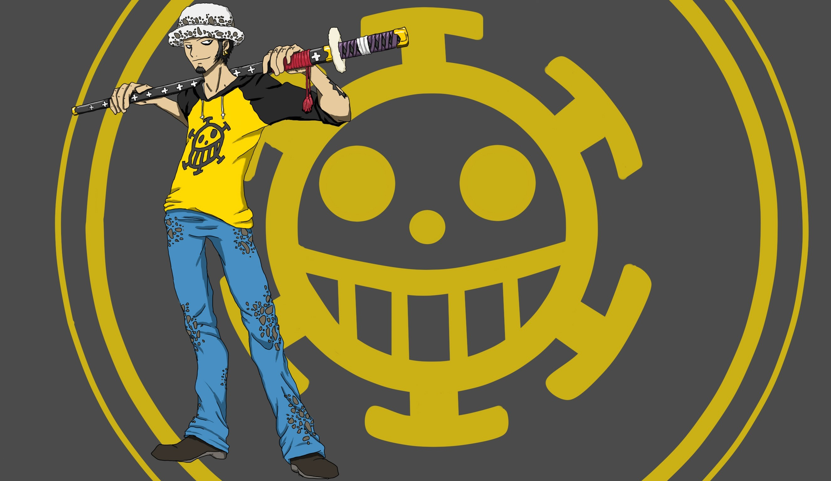 trafalgar law logo - HD 1680×1050