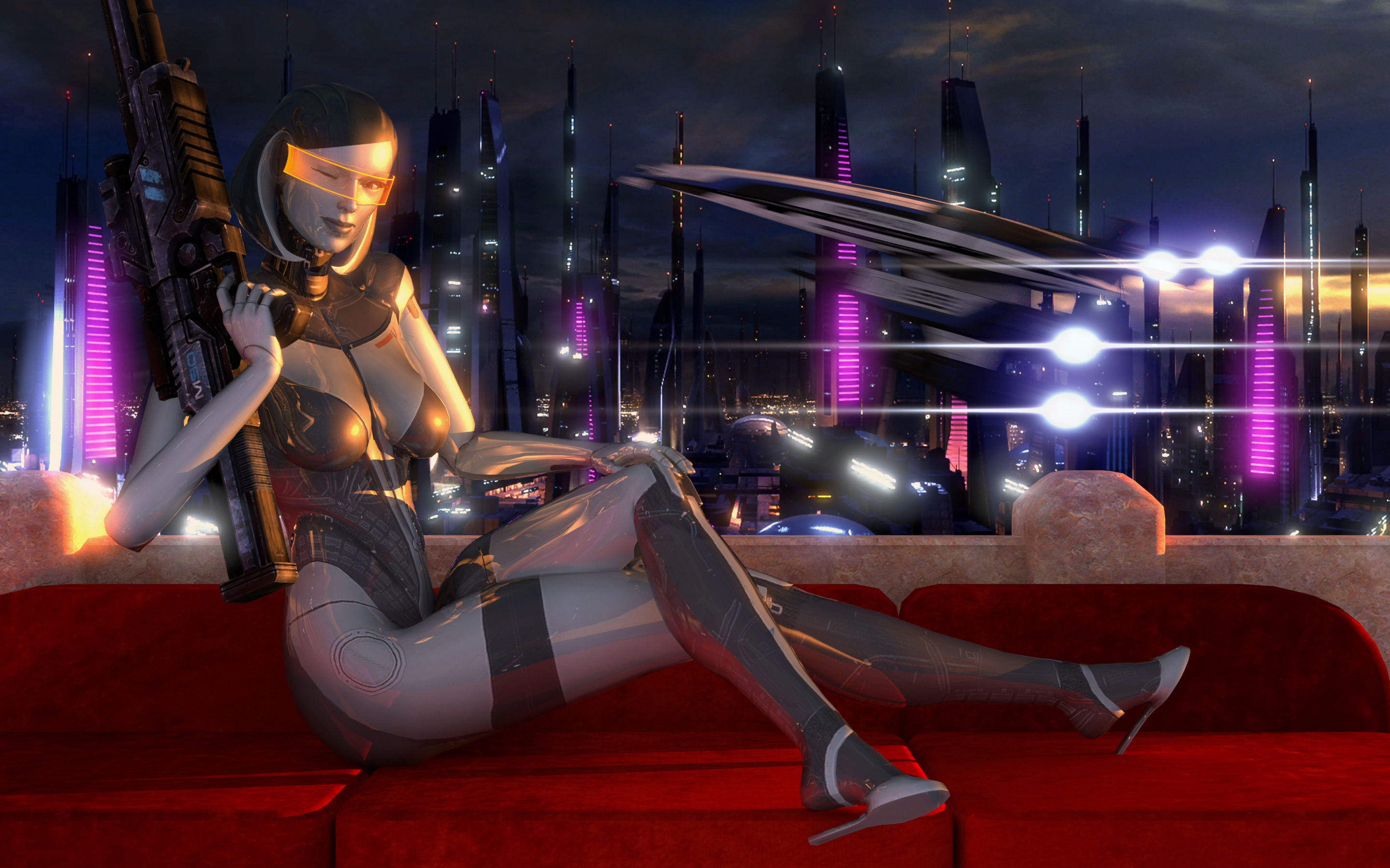 Mass effect robot porn sexy download