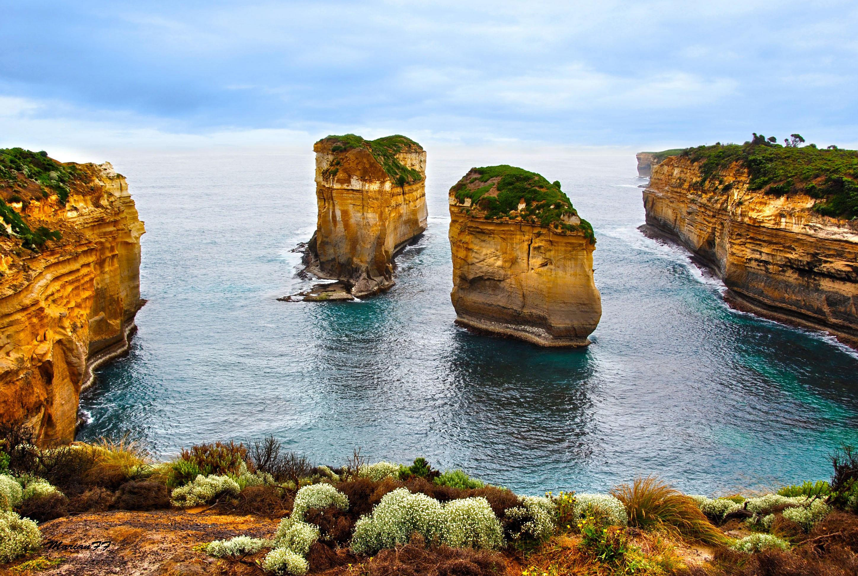 Море побережье природа Мыс Соландер  № 3111701  скачать