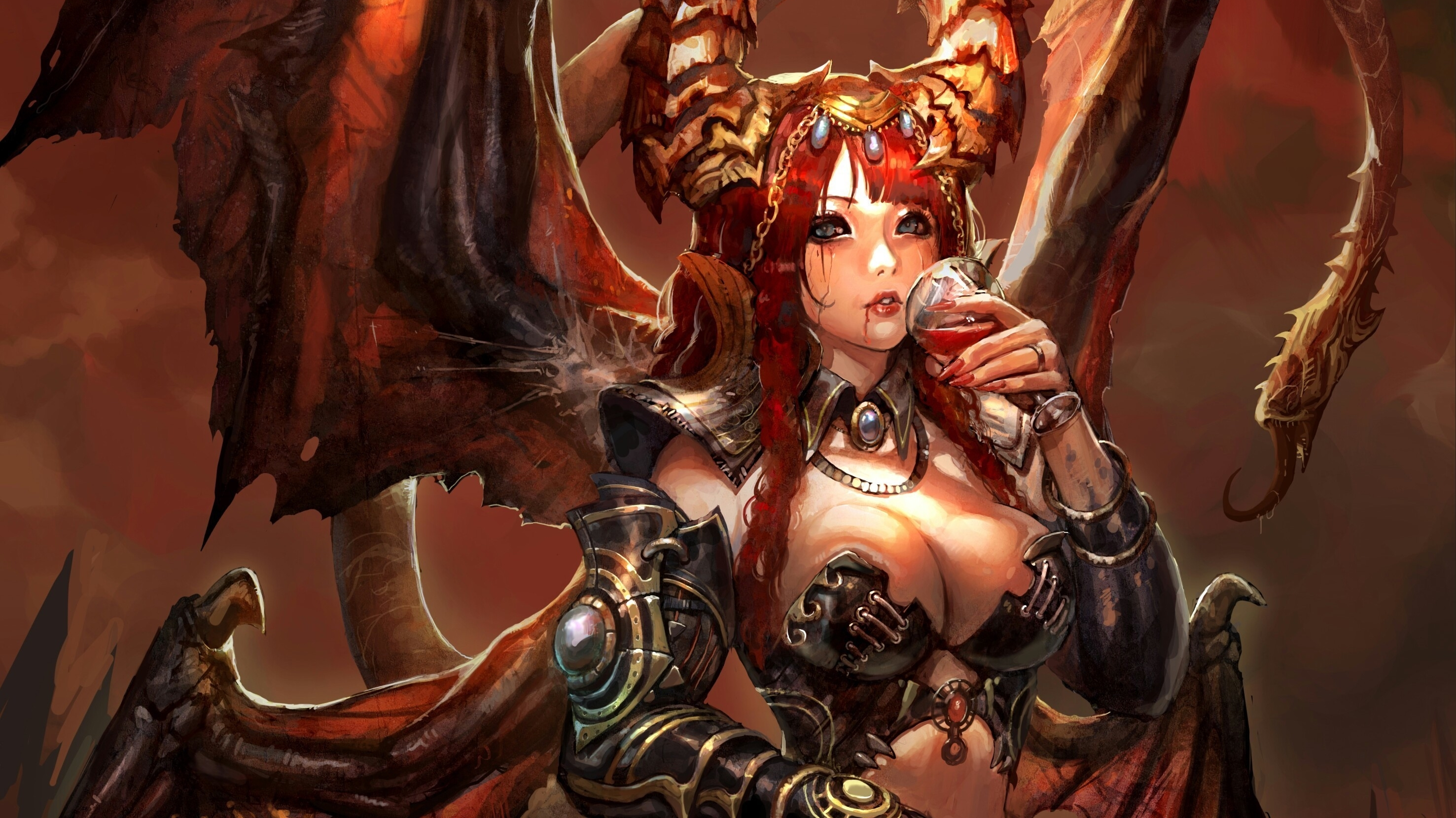Winged succubus erotic fantasy porncraft gallery