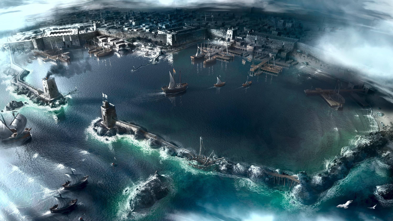 город порт у моря  № 2227233 без смс