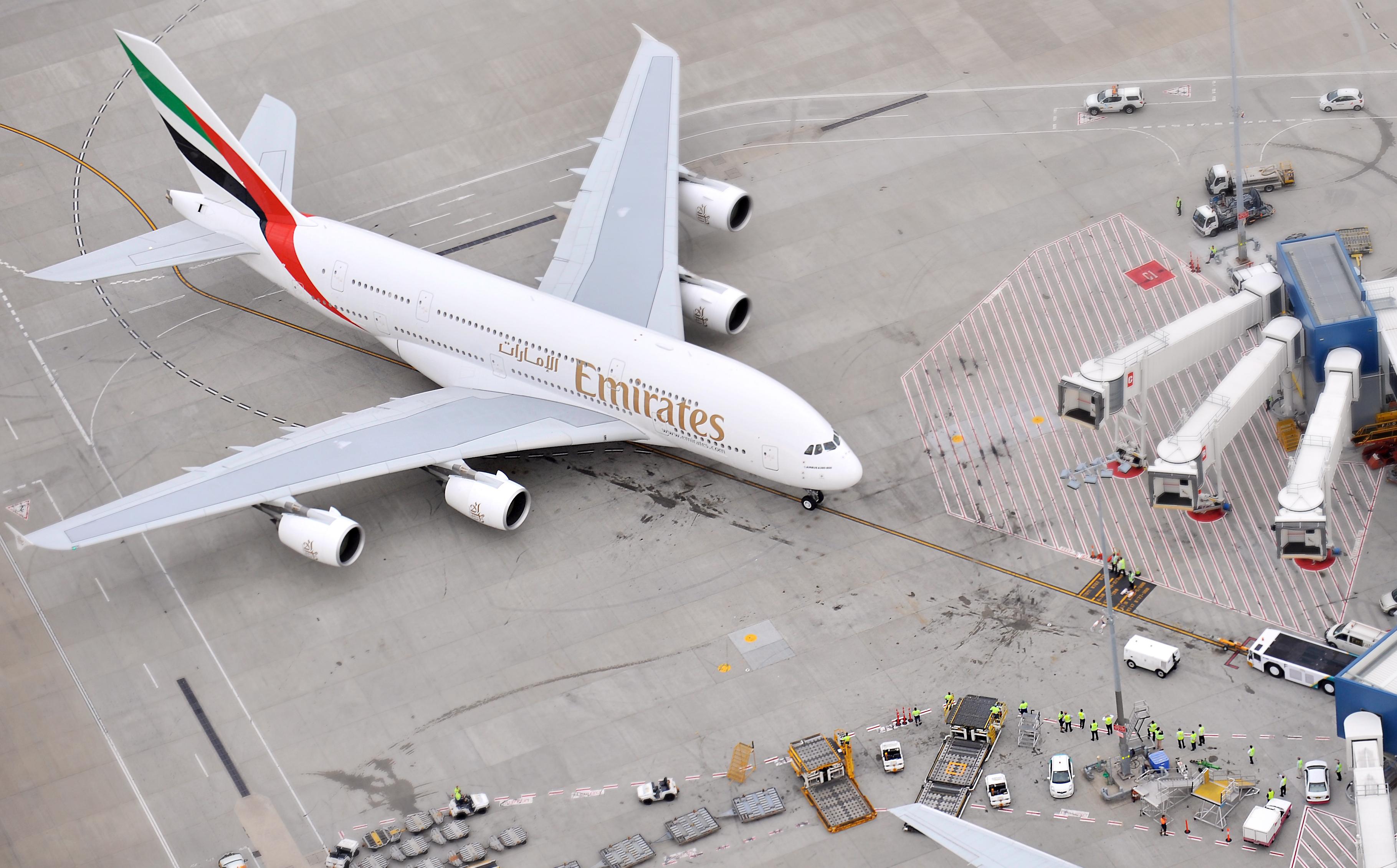 Аэробус А380  № 2361620 загрузить