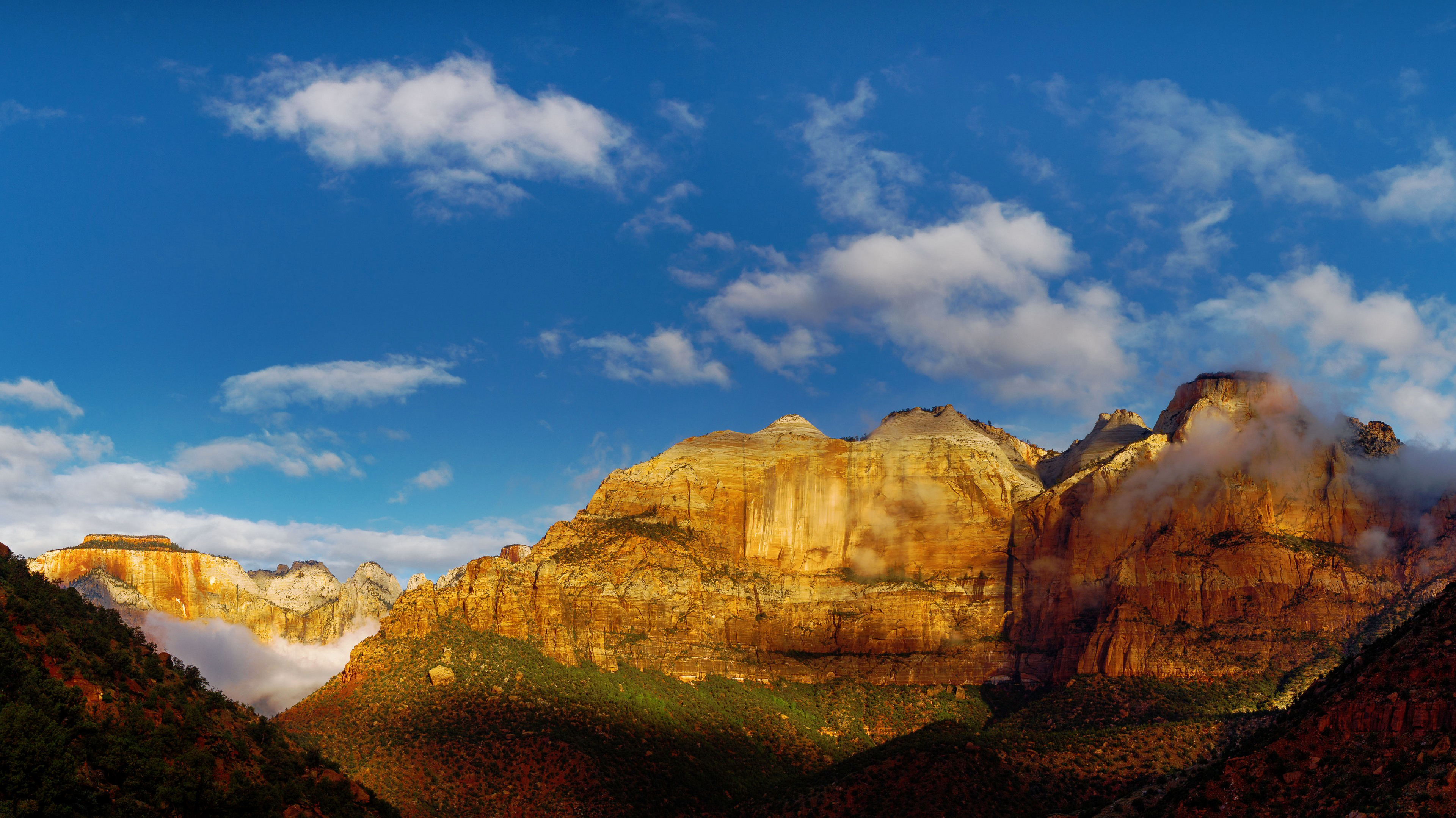 природа небо облака горы скалы  № 514736 без смс