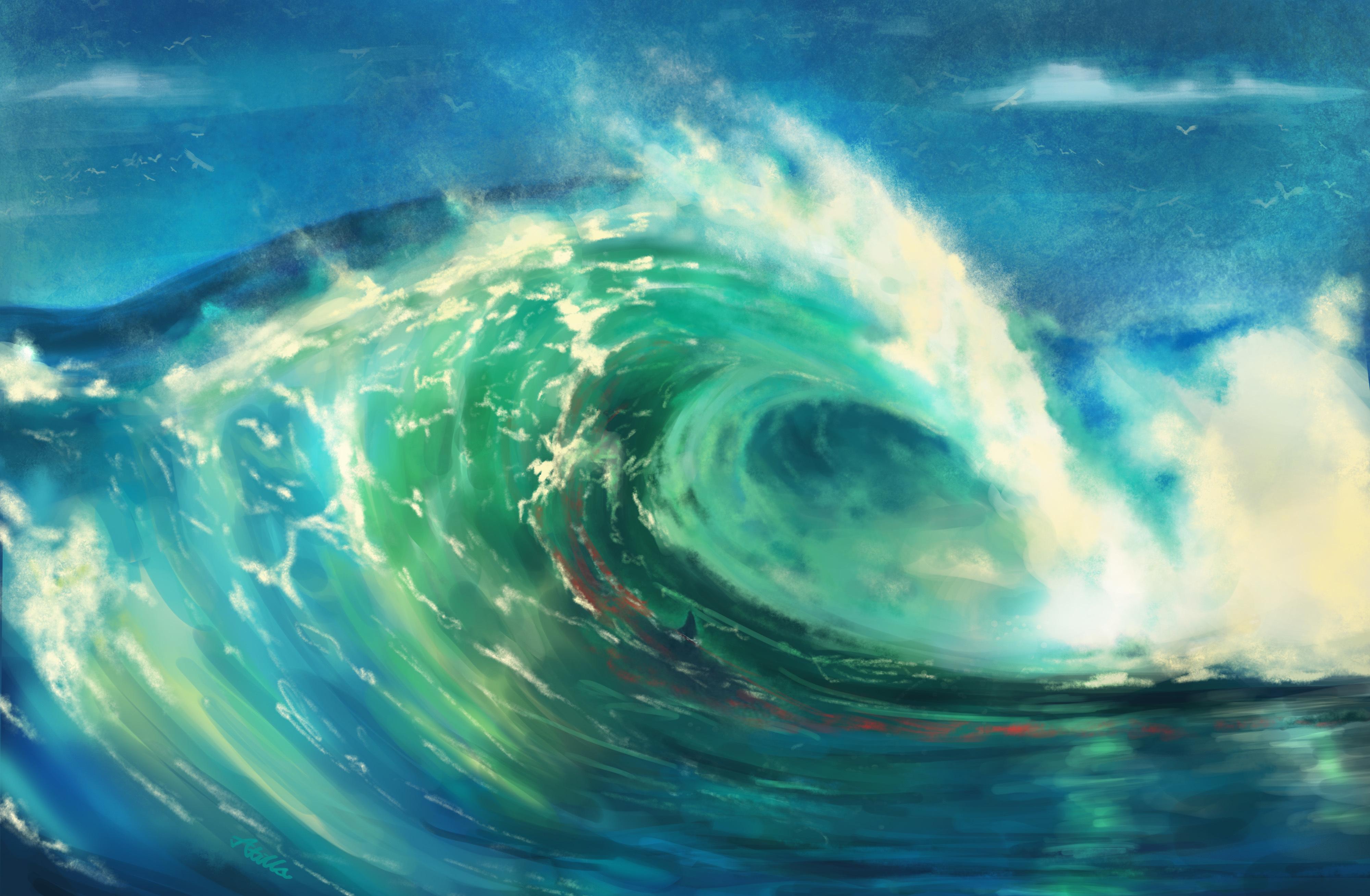 water paint art