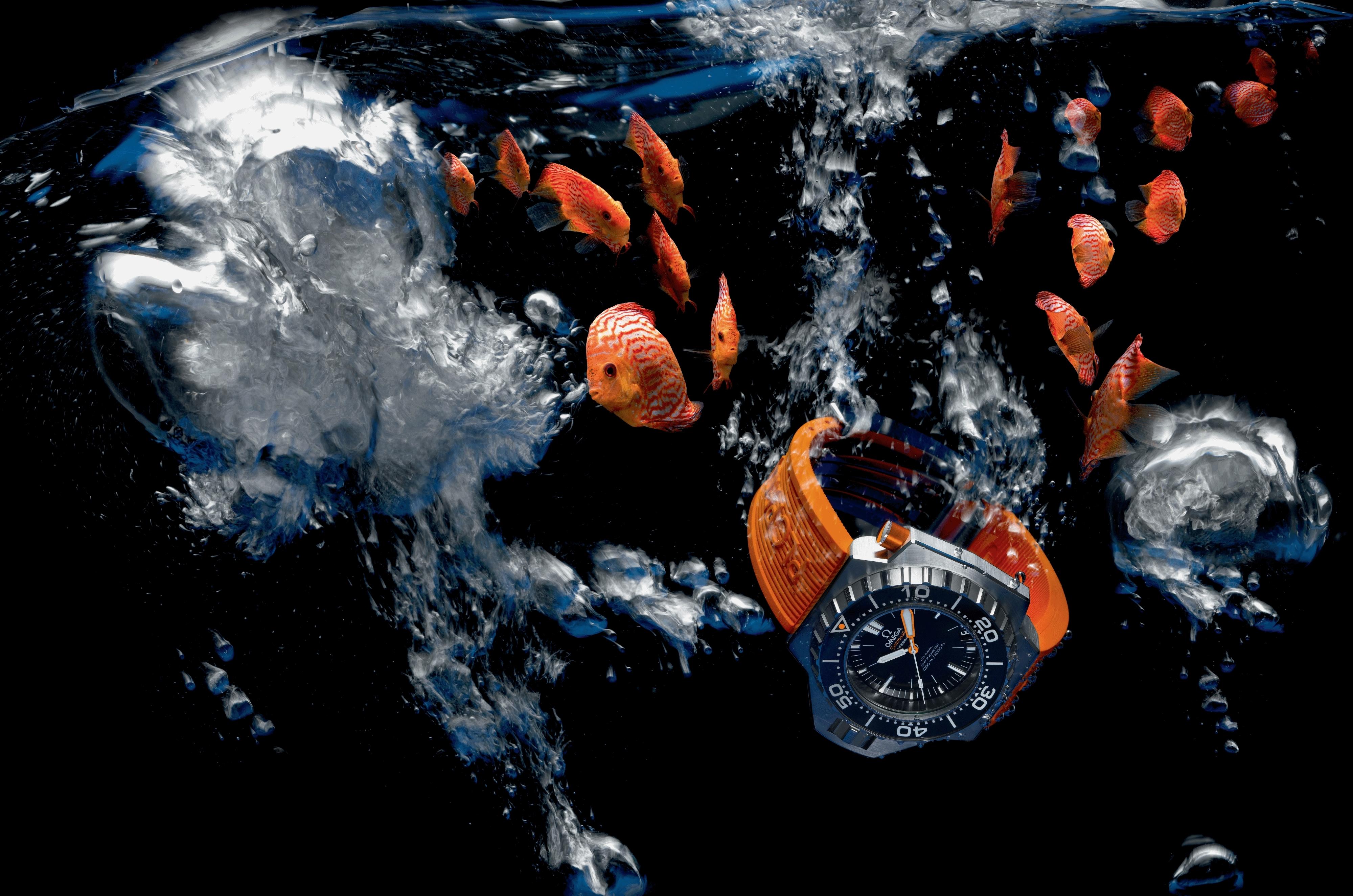 обои бесплатно скачать на рабочий стол часы в воде № 188075 загрузить