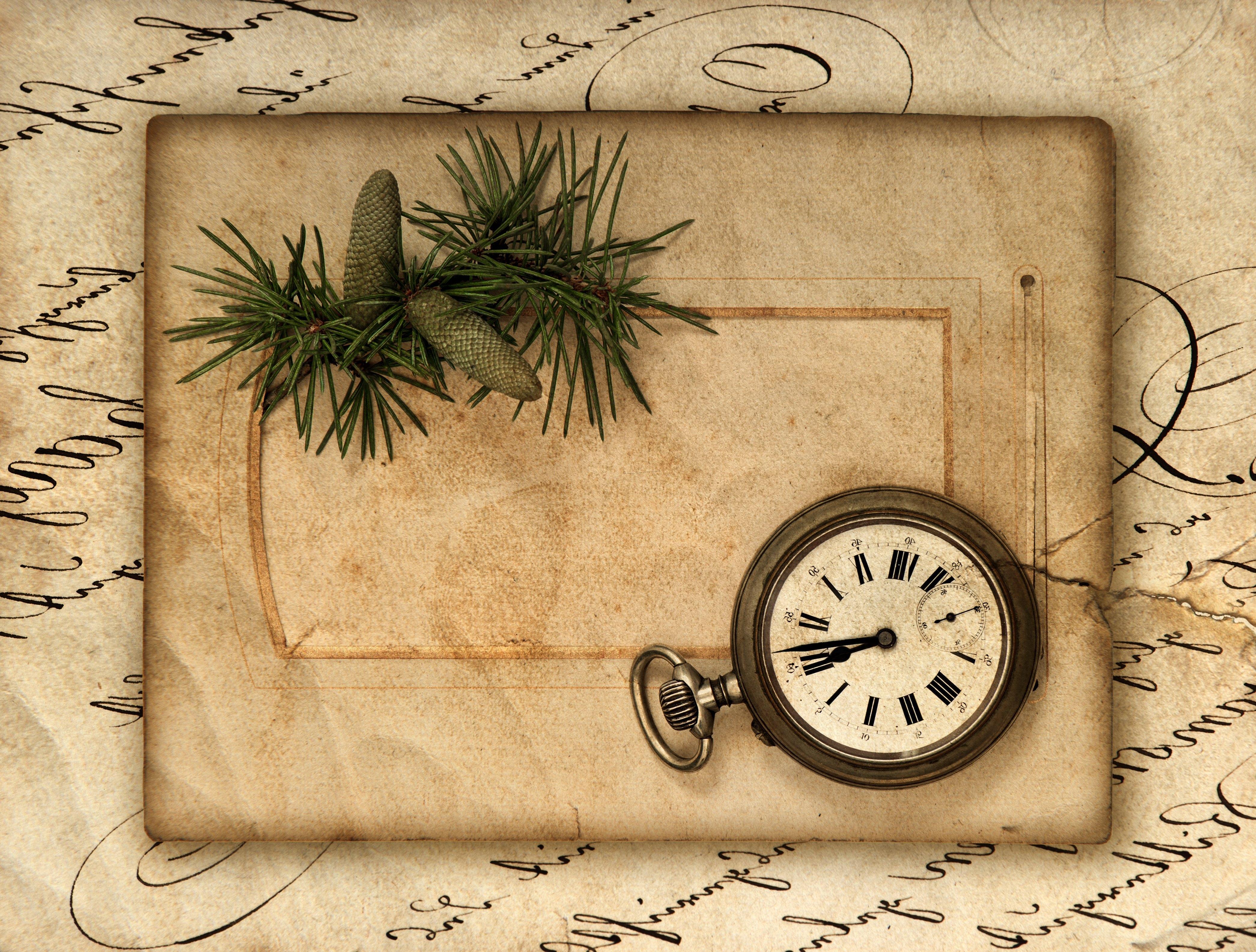 Карманные часы и скатерть  № 2171633 загрузить