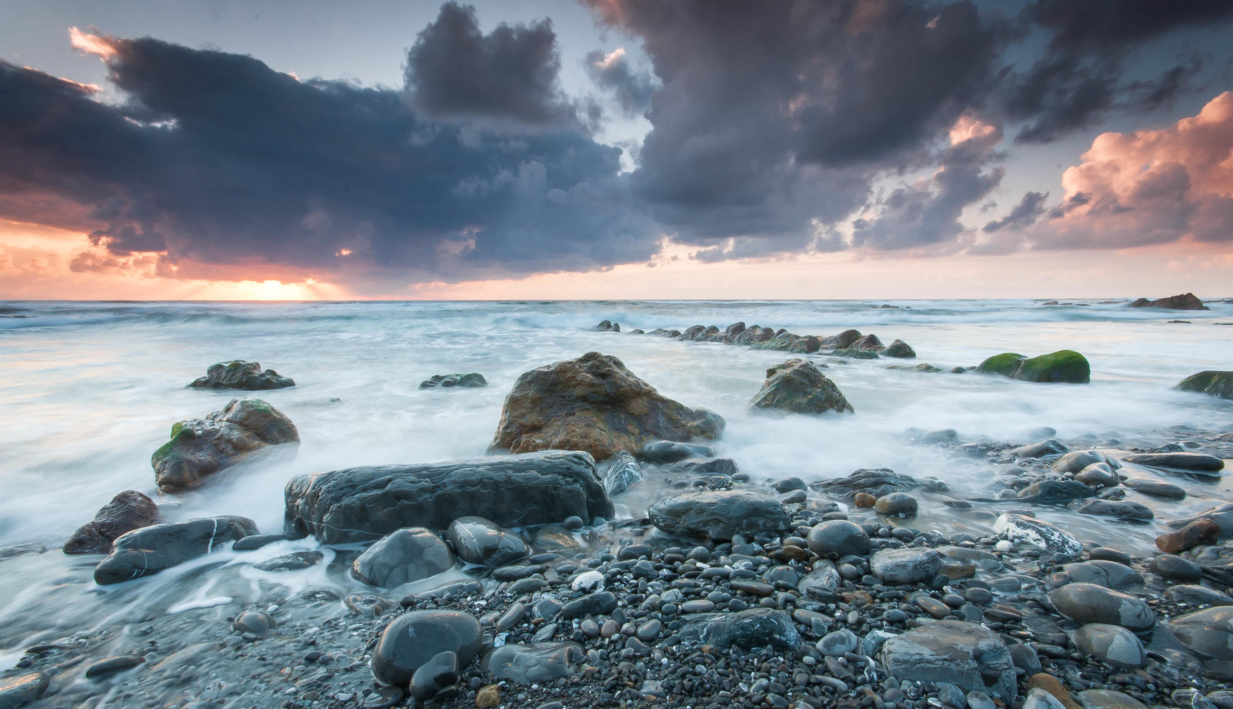 камни небо море  № 1491417  скачать