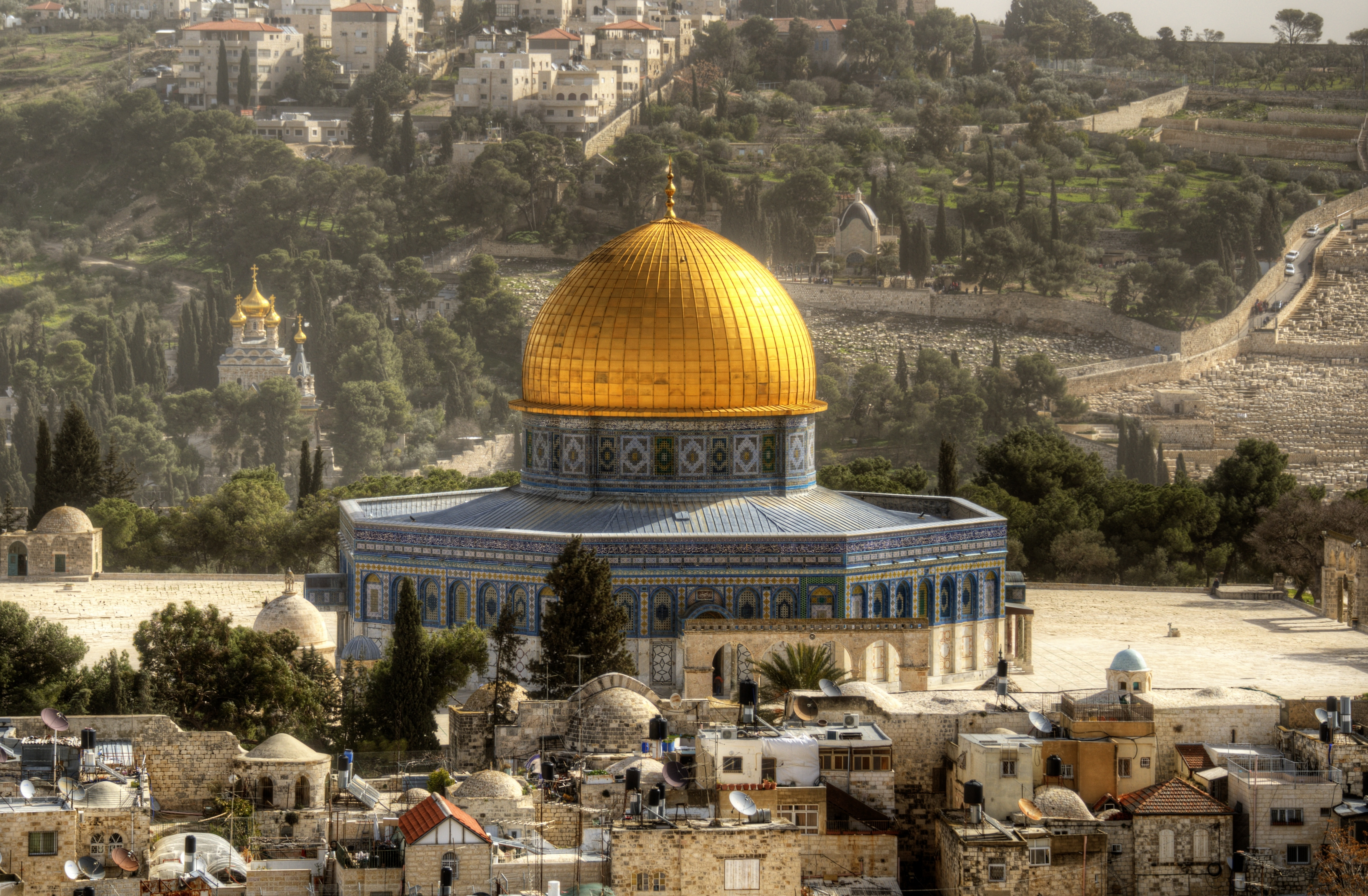 Video: UFO hovers over Jerusalem shrine - Telegraph Dome of the rock in jerusalem pictures
