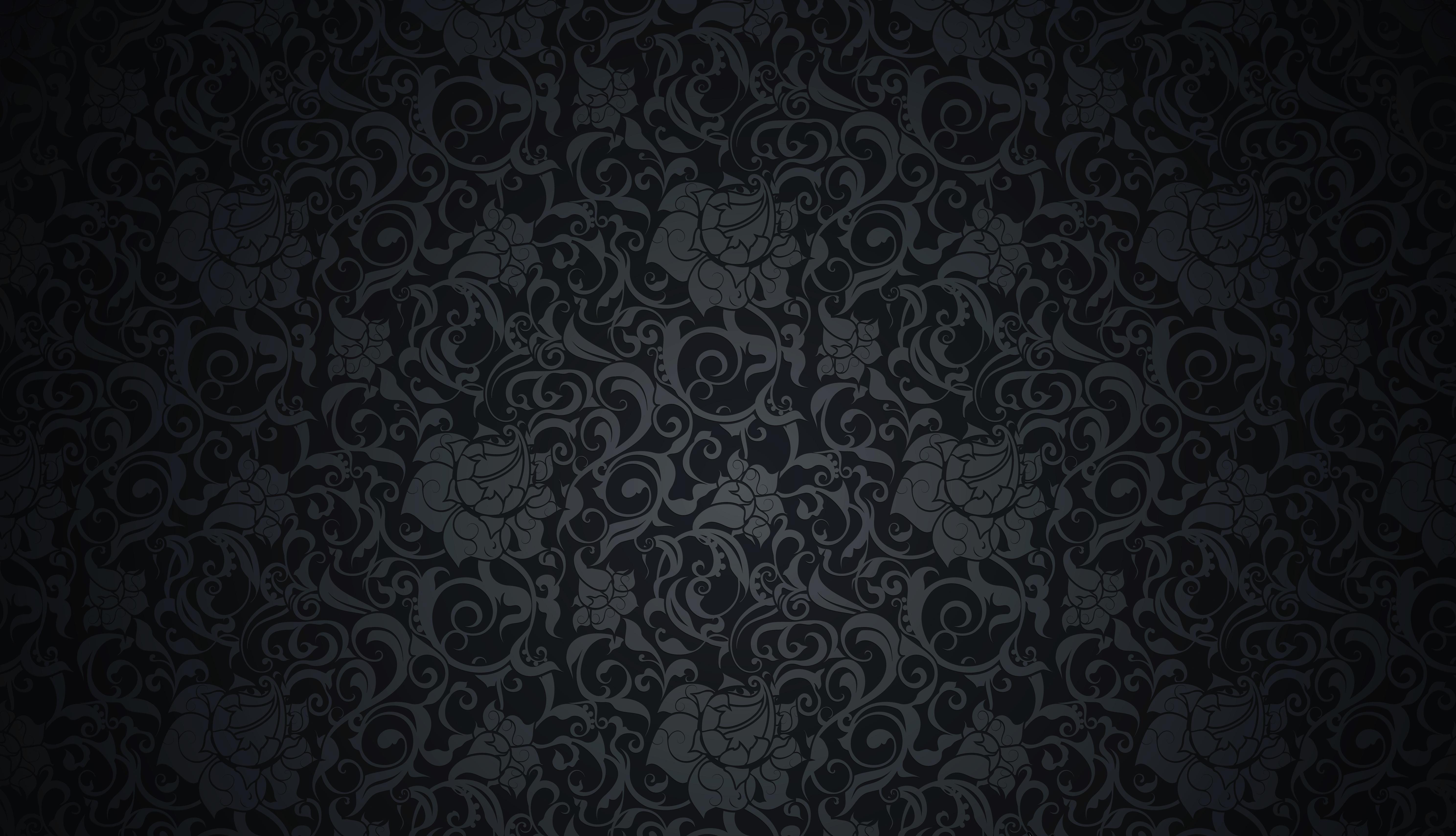 круги узоры темный фон  № 2064574 без смс