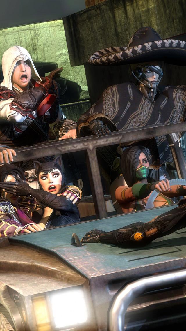 Download Wallpaper Halo Ninja Gaiden Ezio Crossover