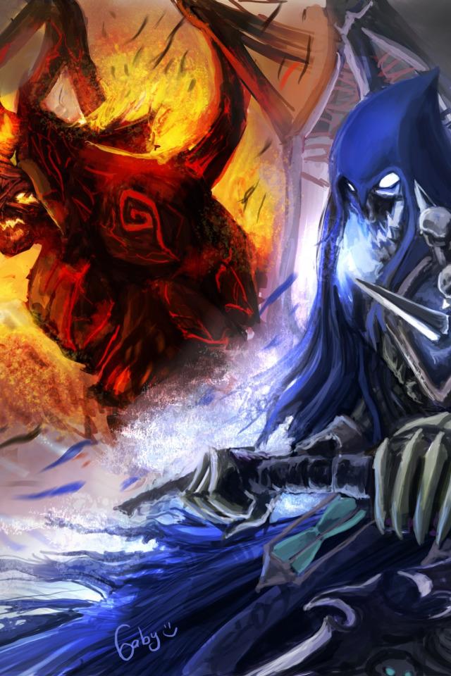 Download wallpaper death, war, demon, demons, war