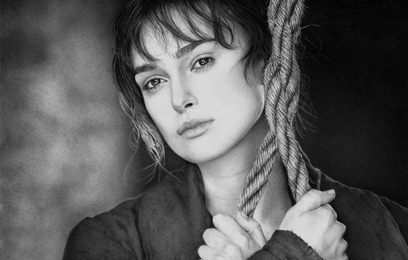 Picture figure, art, Keira Knightley, Keira Knightley