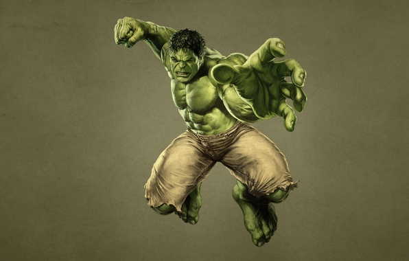 Picture green, monster, fist, Hulk, marvel, comic, hulk, The Avengers, The Avengers, dark background