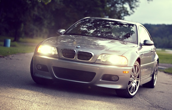 Picture light, lights, cars, auto, Bmw, wallpapers auto, Wallpaper HD, the view from the front, Bmw …