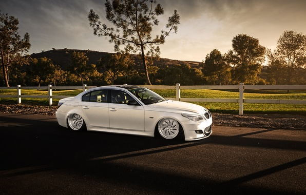 Picture car, bmw, tuning, 5 series, stance