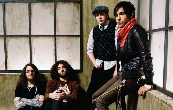 Picture music, rock, Patrick Stump, Fall out boy, Andrew John Hurley, Peter Wentz, Joseph Mark Trohman