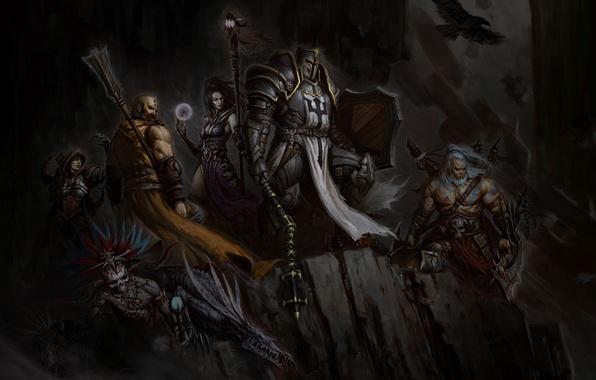 Wallpaper Barbarian, Witch Doctor, Diablo III: Reaper of ...