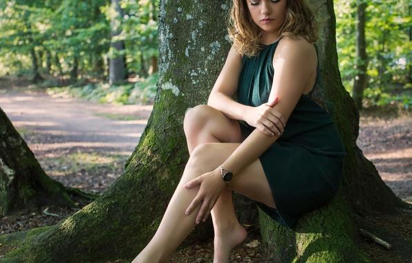 Picture dress, legs, the beauty, Nicoline, Anders Hansen