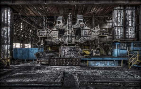 Picture background, plant, interior, factory
