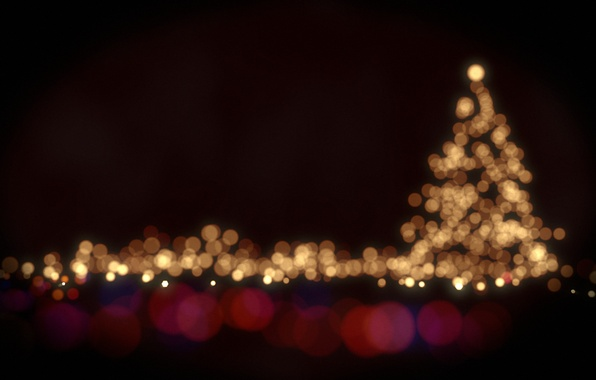 Picture light, circles, lights, lights, holiday, paint, colors, light, tree, circles, bokeh, bokeh, holiday, 2560x1600, christmas …