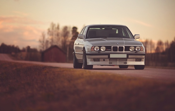 Picture Road, BMW, BMW, E34, Alpina, B10, Bi-turbo