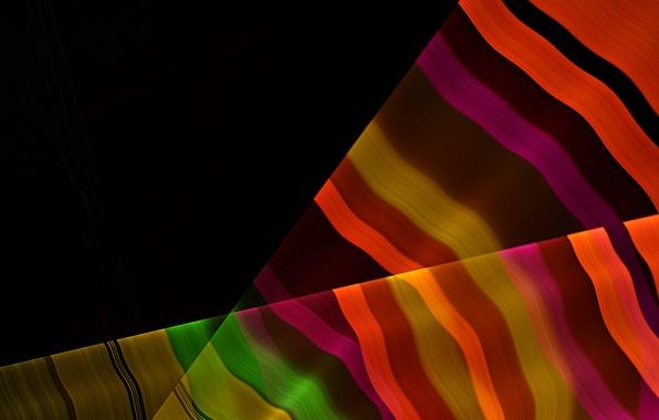 Picture rays, line, strip, rainbow