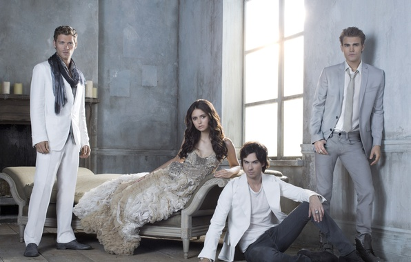 Picture girl, room, the series, guys, the vampire diaries, nina dobrev, ian somerhalder, the vampire diaries, …