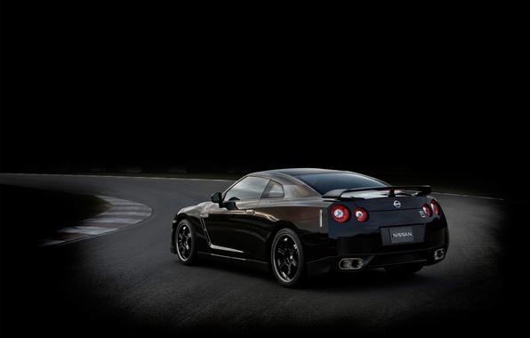 Picture black, Nissan, SpecV, GT-R