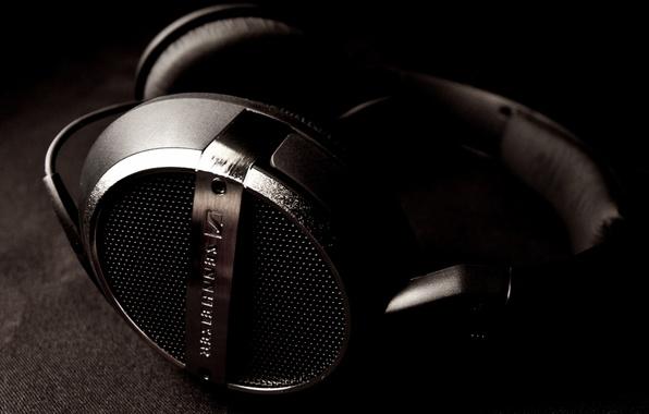 Picture music, music, headphones, headphones, sennheiser, HD448