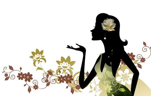 Picture background, silhouette, digital art
