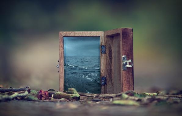 Picture Water, Bokeh, Box, Surreal