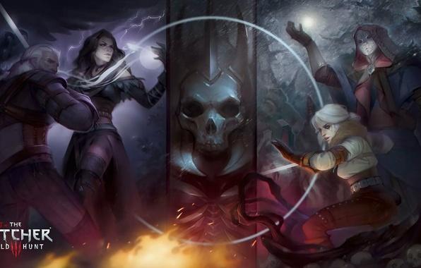 Picture art, The Witcher, Geralt, Witcher, CRIS, , Jennifer, Alteya