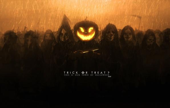 Picture holiday, art, pumpkin, mask, halloween, mivit