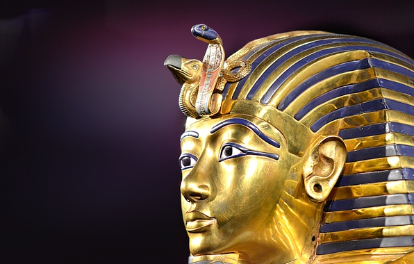 Picture mask, Pharaoh, Tutankhamun, Egypt, Ancient, Tutankhamun