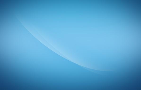 Picture line, minimalism, line, blue background