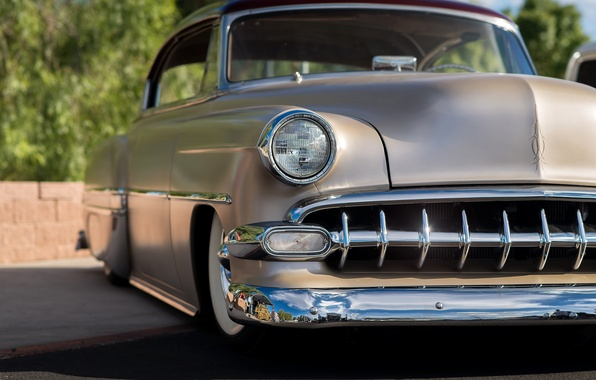 Picture Chevrolet, 1954, Chevy, the front